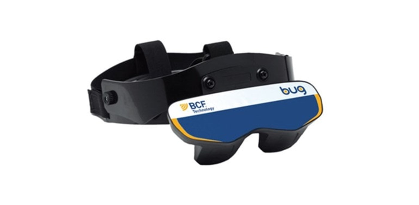 BUG goggles bovine ultrasound viewing device