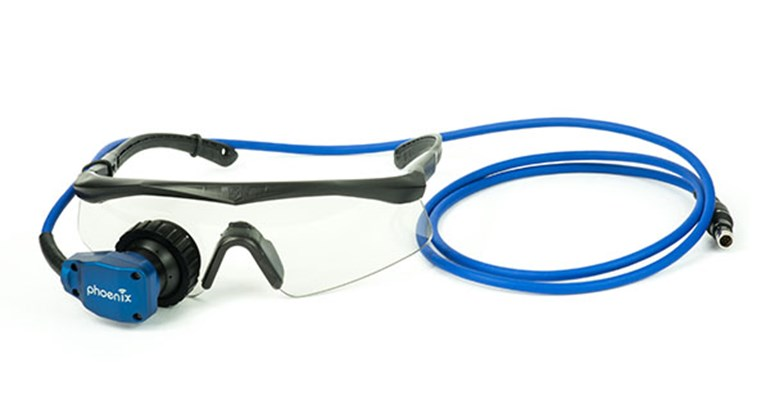 Phoenix monocular ultrasound goggle front
