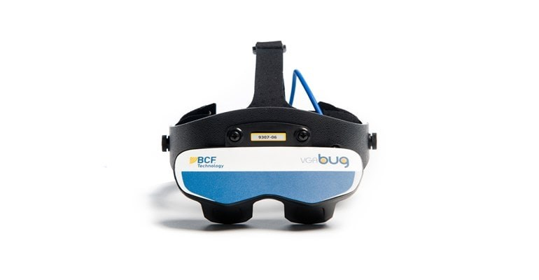 BUG ultrasound goggles front