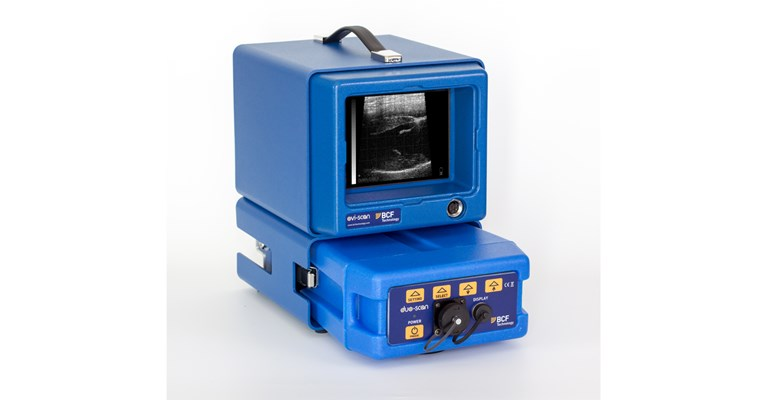 Ovi-Scan sheep ultrasound scanner with battery