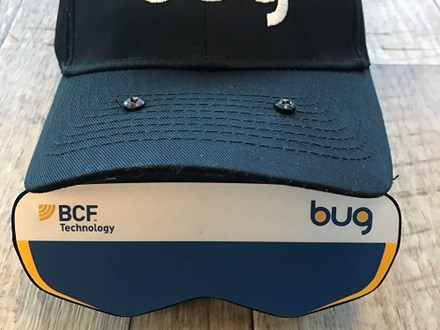 BUG ultrasound goggle hat mount